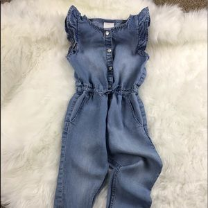 H & M Chambray Romper Size 1.5 - 2 years
